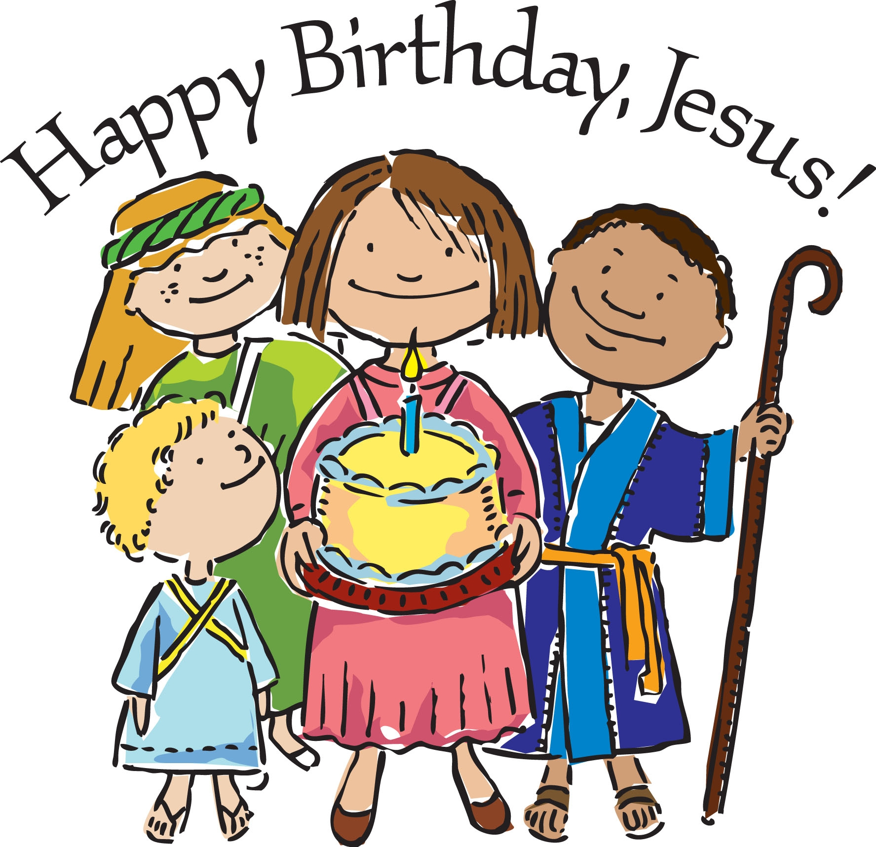 Happy Birthday Jesus Party Church Of The Good Shepherd Tyrone Pa